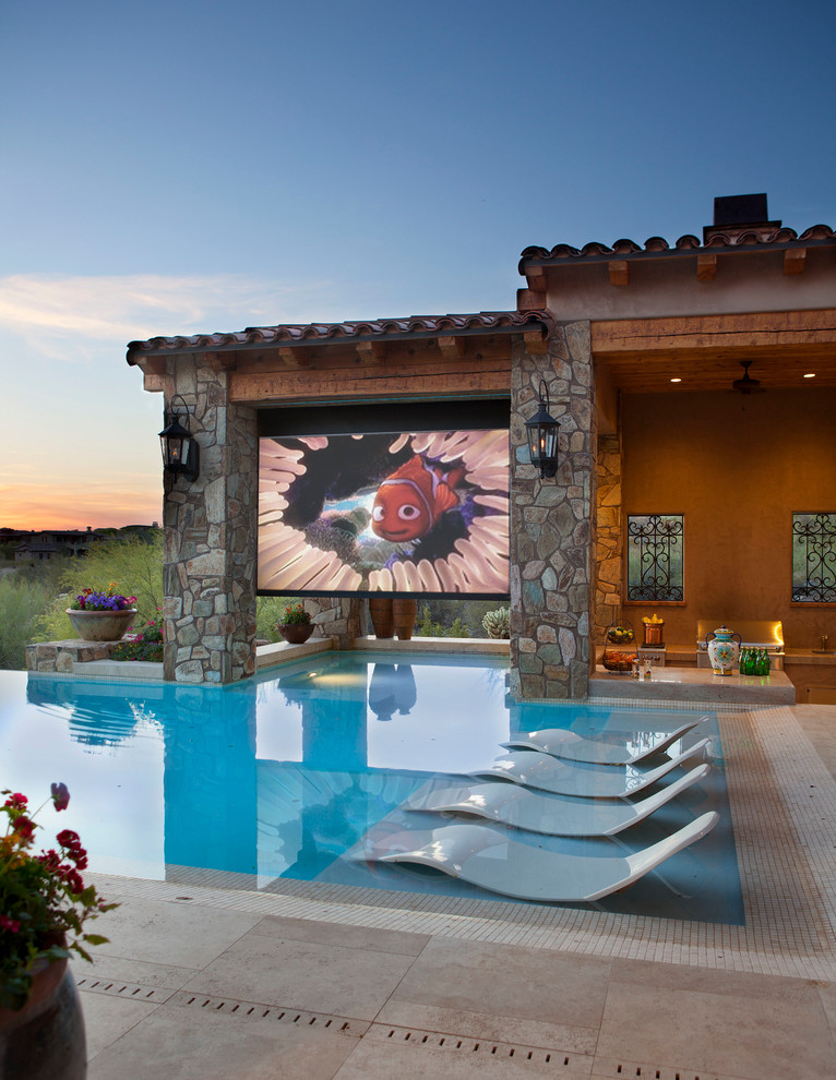 Example of a tuscan pool design in Phoenix