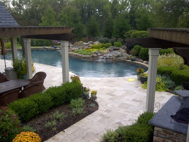 Skippack Residence traditional-pool