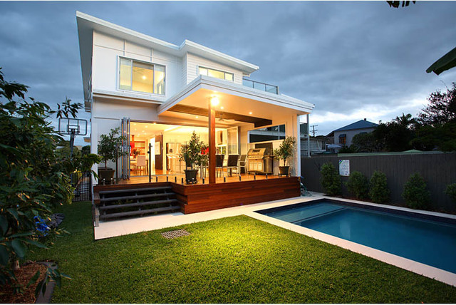 Small Lot Design Wynnum Queensland - Modern - Pool - Brisbane - by ...