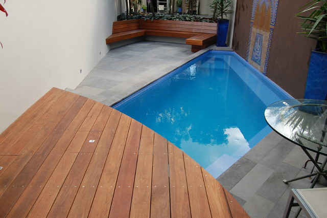 Small plunge pool for Plunge pool design uk