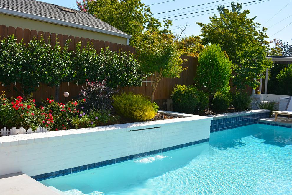 Small Yard Luxury - Modern - Pool - Sacramento - by ...
