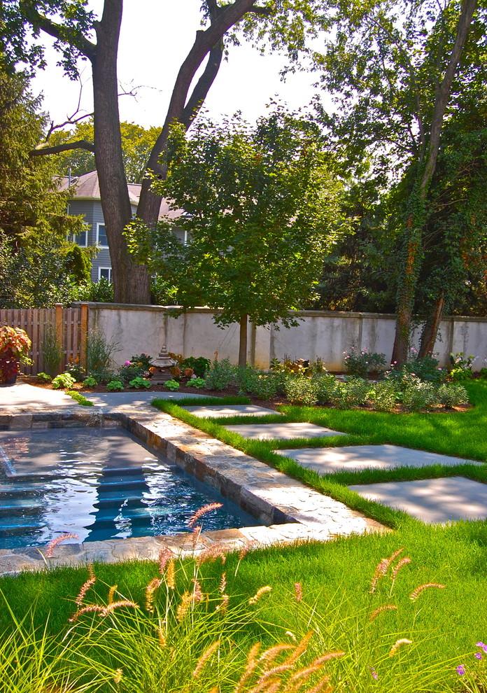 Pool - traditional rectangular pool idea in New York