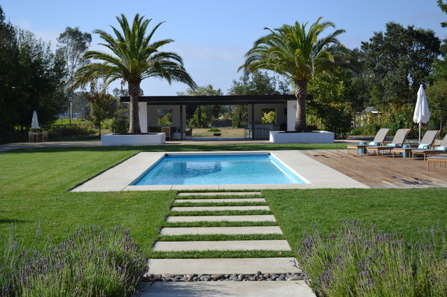 Sonoma 2012 modern pool san francisco by girasole for Houzz landscape architects