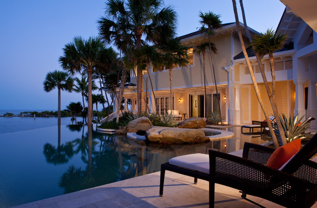 key west style home designs. Sophisticated Key West Style tropical pool  Tropical Pool Miami by Pinto