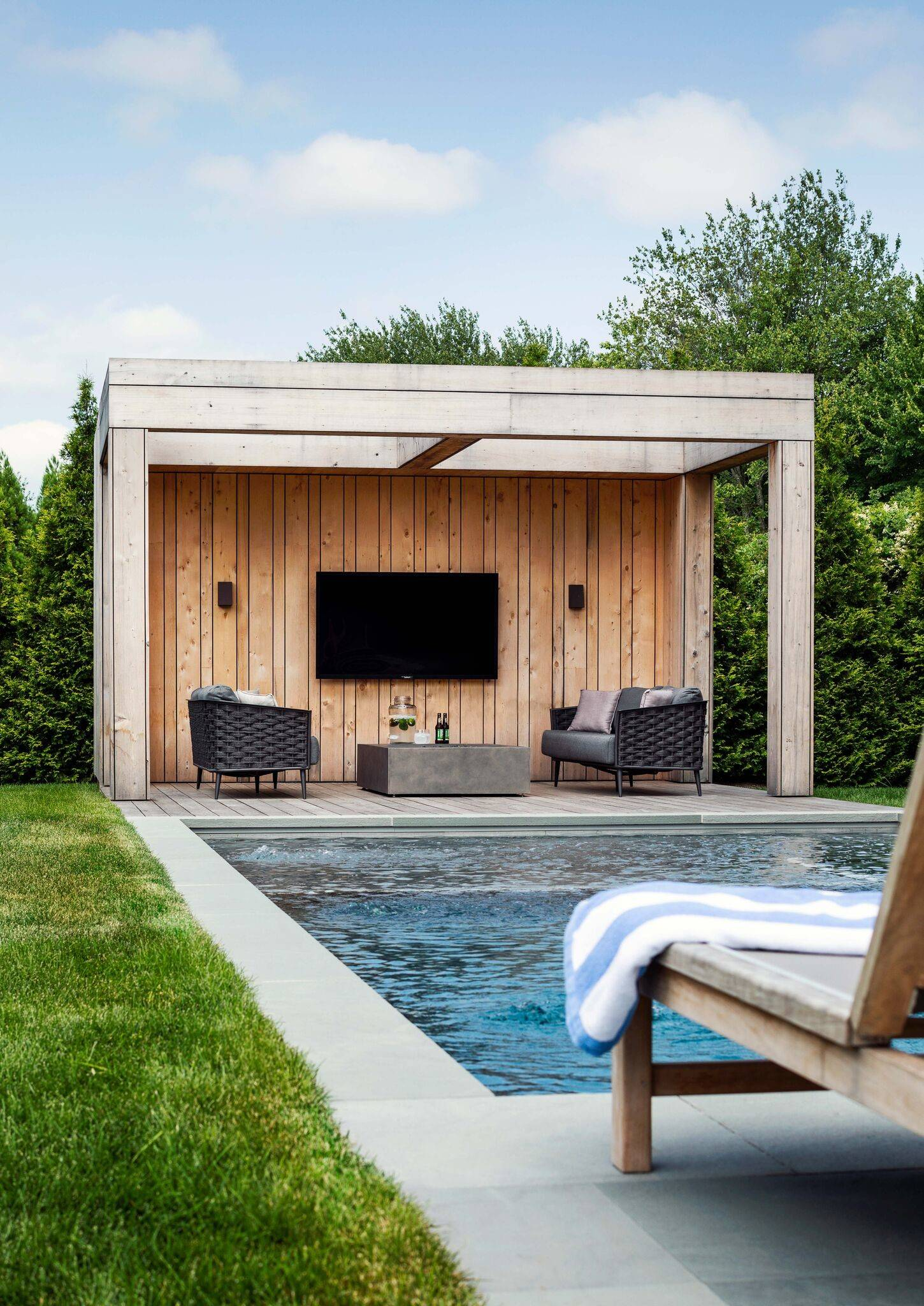 75 Beautiful Farmhouse Pool Pictures Ideas March 2021 Houzz