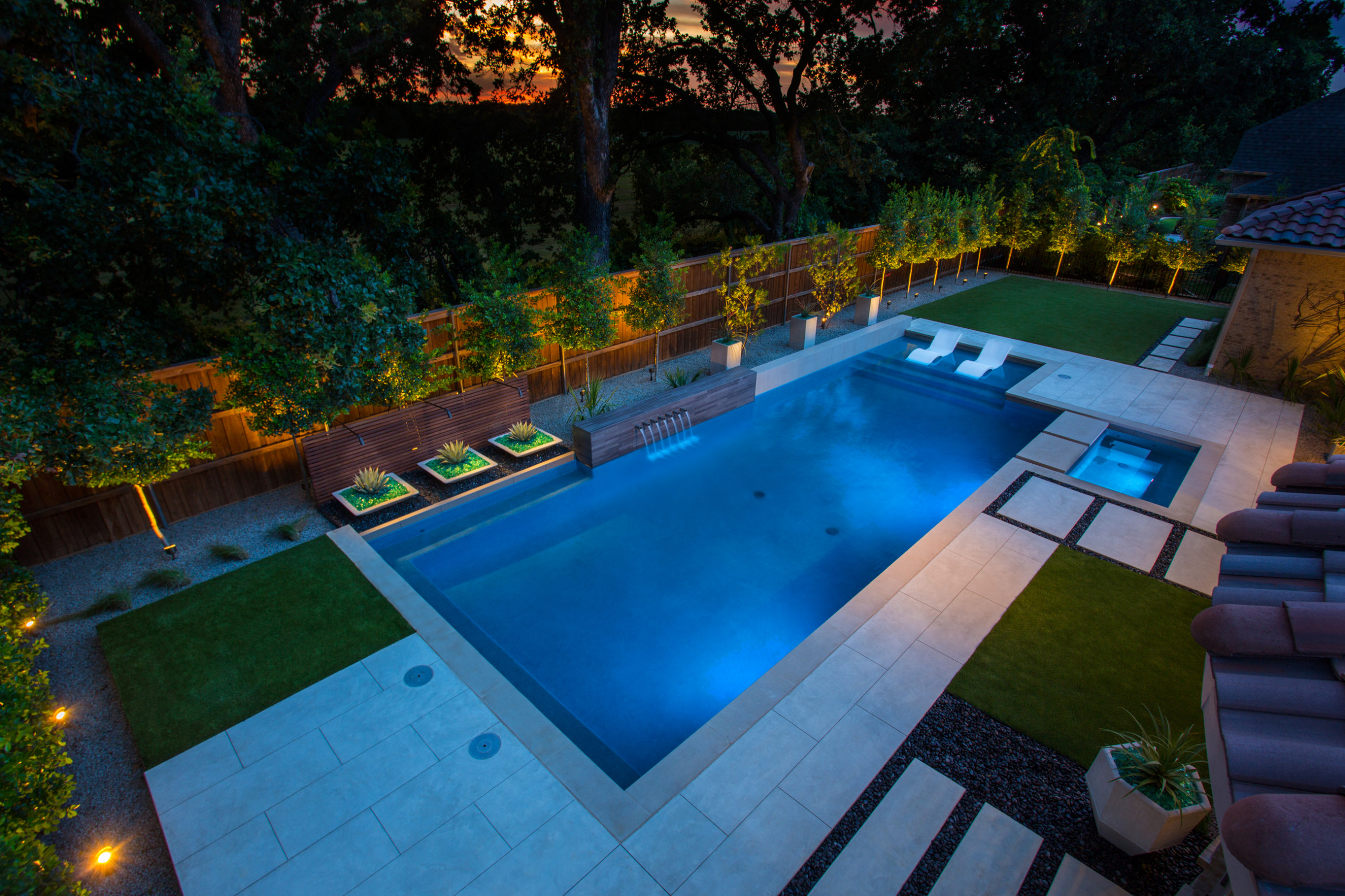Wood Pool Deck Ideas Houzz