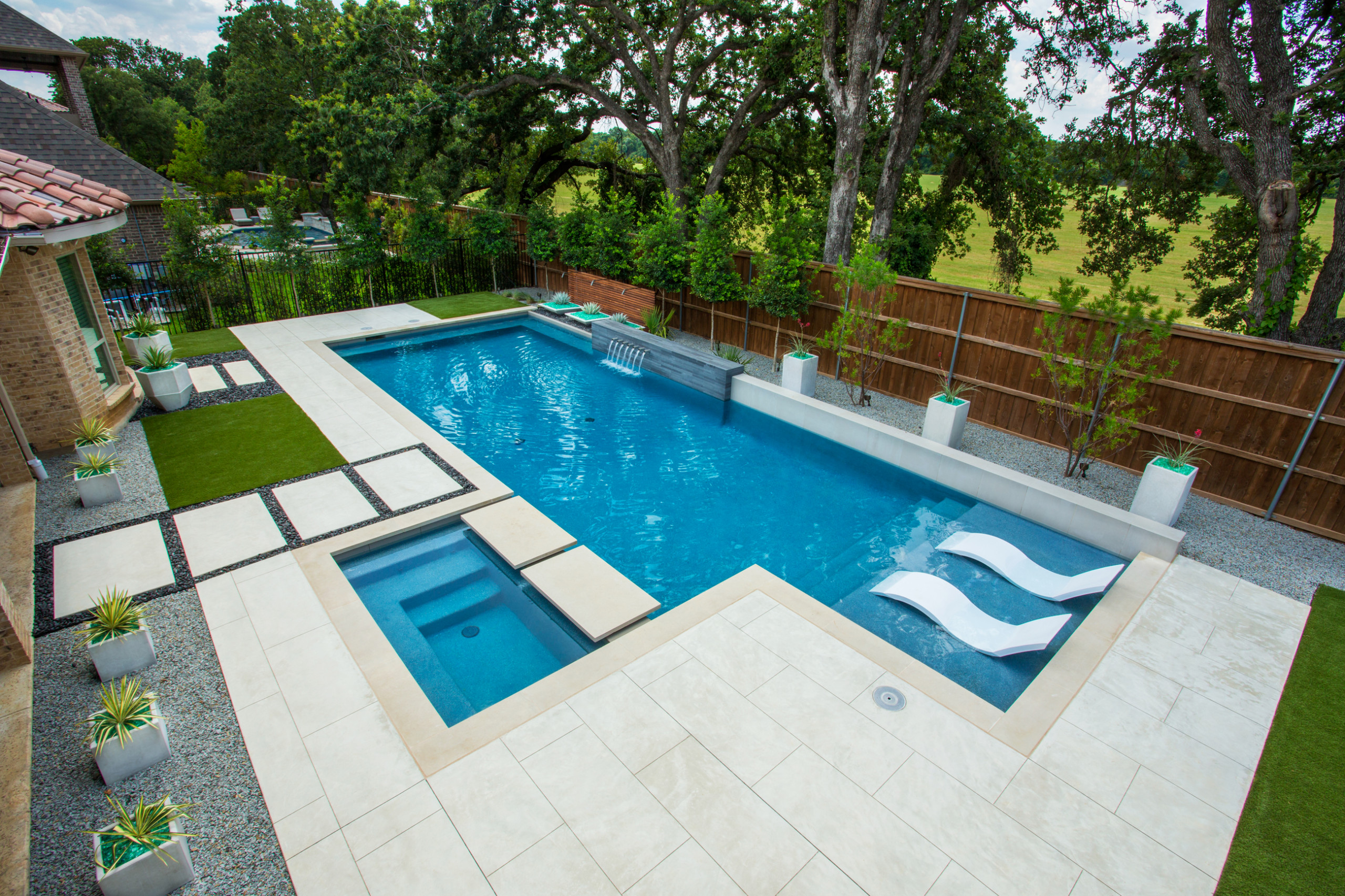 75 Beautiful Mid Sized Backyard Pool Pictures Ideas July 2021 Houzz