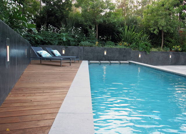 Spa Oasis Modern Pool San Francisco By Shades Of