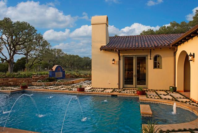 4500 Spanish Oaks mediterranean-pool