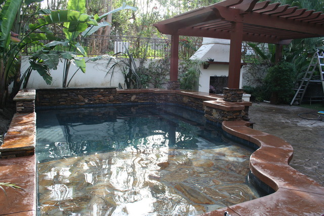 Spool Construction mediterranean-pool