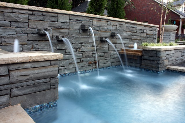 SPool Scuppers - Modern - Swimming Pool & Hot Tub - Dallas ...