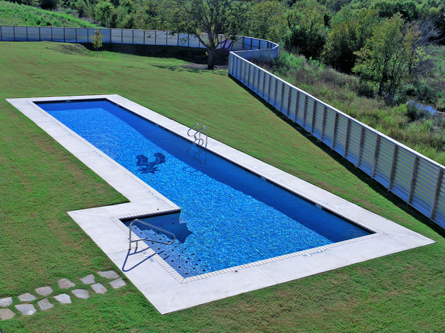 Spurs training facility modern pool austin by blue for Pool design certification