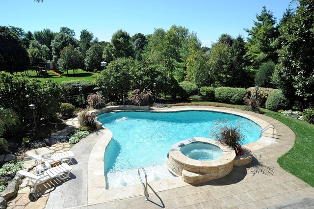 St. Charles Pool and Spa contemporary-pool