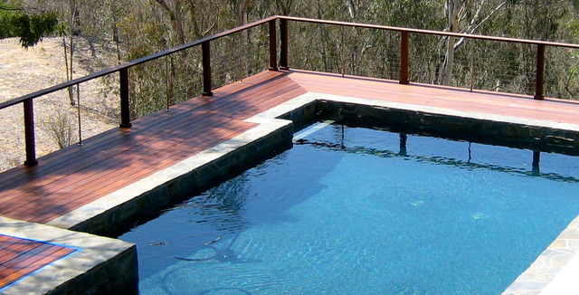 Modern fence houzz - Pool Fencing Modern Home Fencing And Gates Other