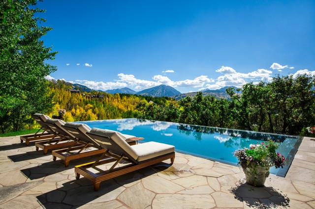 Starwood Estate Bathroom Rustic Pool Denver By