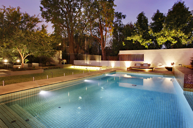 Example of a pool design in Melbourne