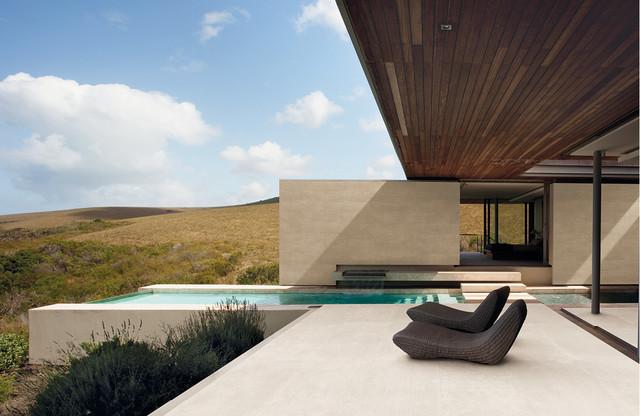 Stone Look Tile Modern Pool Dallas By Horizon Italian Tile