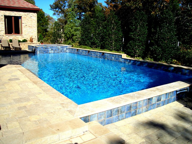 Stone Mill 2 Project traditional-pool