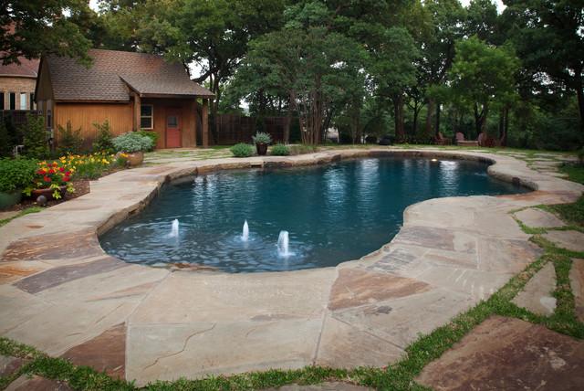 Stoneledge luxury swimming pool grapevine tx for Pool design dallas texas