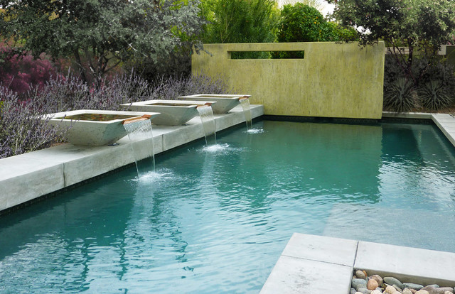 strikingly simple modern pools phoenix von bianchi design. Black Bedroom Furniture Sets. Home Design Ideas