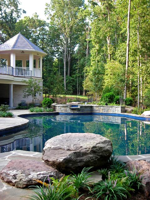 Stuart mill master plan residence for Plusen landscape architects