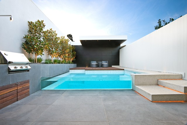 Stunning contemporary pool contemporary-pool