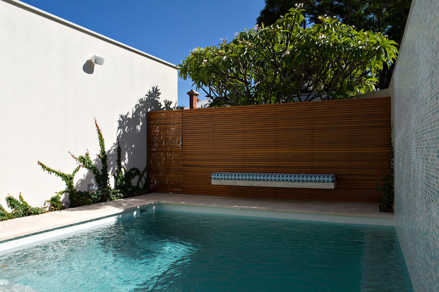 subiaco contemporary pool perth by tim davies landscaping
