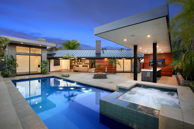 Summer circle contemporary pool orange county by v for Pool design orange county