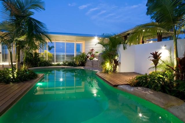 Summit House Tropical Pool Brisbane By Skale