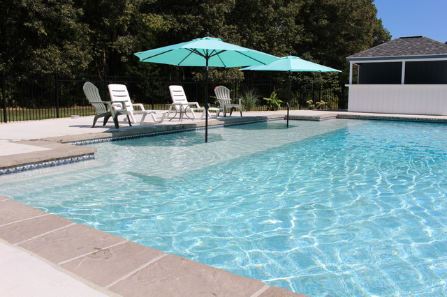 Sun Shelf Contemporary Pool Other Metro By THE
