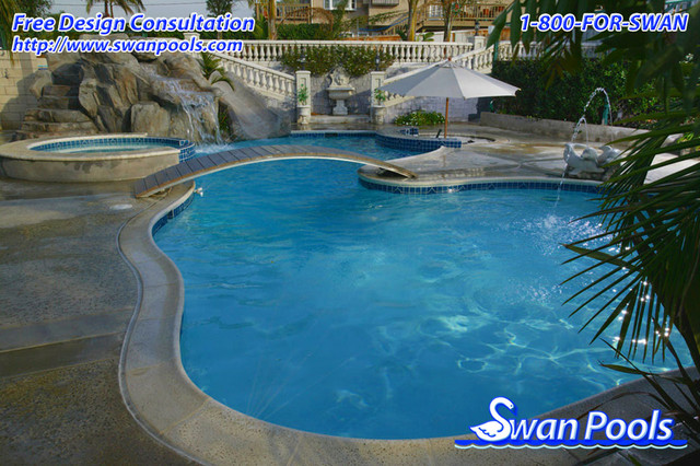 Swan Pools Custom Designs A Private Resort 2001