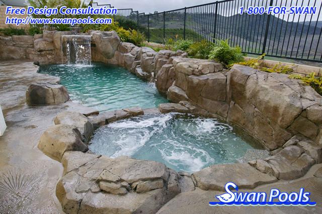 Swan Pools Custom Designs - Natural Hot Spring, 2003 ...