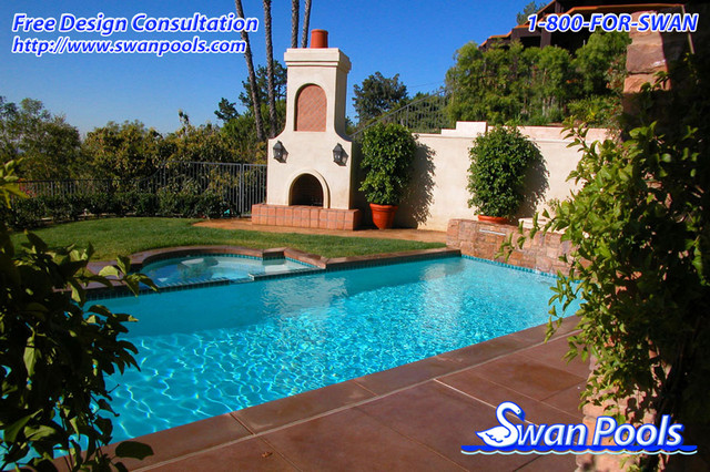 Swan Pools Custom Designs - Simple Elegance, 2002 pool