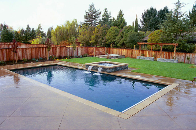 Swan pools swimming pool and spa the zen of water for Garden pool zen area