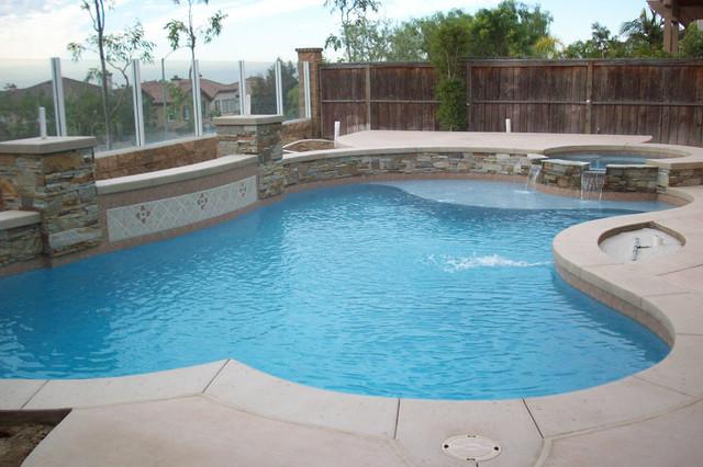 Swan pools swimming pool company aesthetics for Pool design orange county