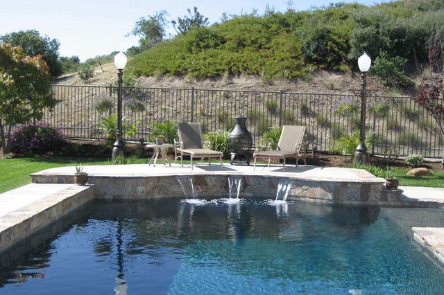 Swan Pools | Swimming Pool Company | Aesthetics | Stone traditional-pool