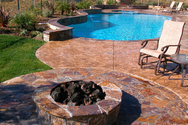 Swan Pools Swimming Pool Construction Company Traditional Patio Orange County By Swan
