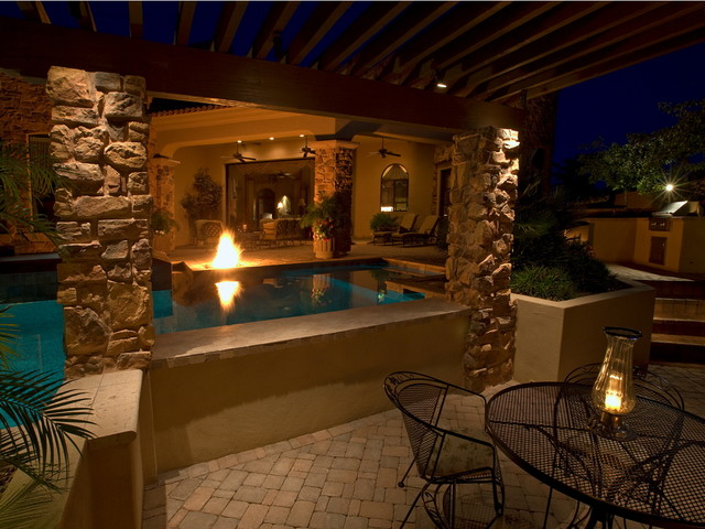 Swim Up Bars Tropical Swimming Pool Hot Tub Phoenix