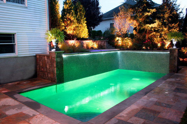 Swimming Pool And Water Feature Lighting Contemporary Hot