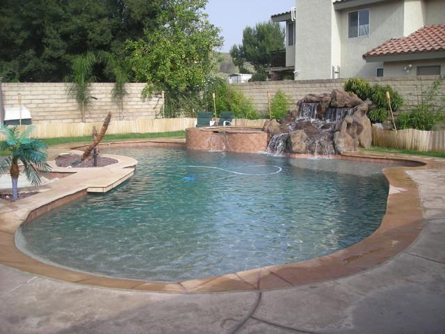 Swimming Pool Contractor Builder Construction Los Angeles California Modern Pool Los