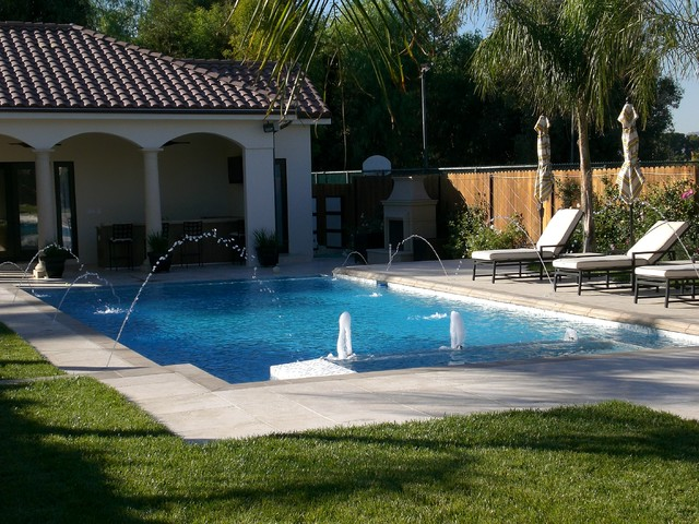 Swimming Pool Contractor Builder Construction Los Angeles California