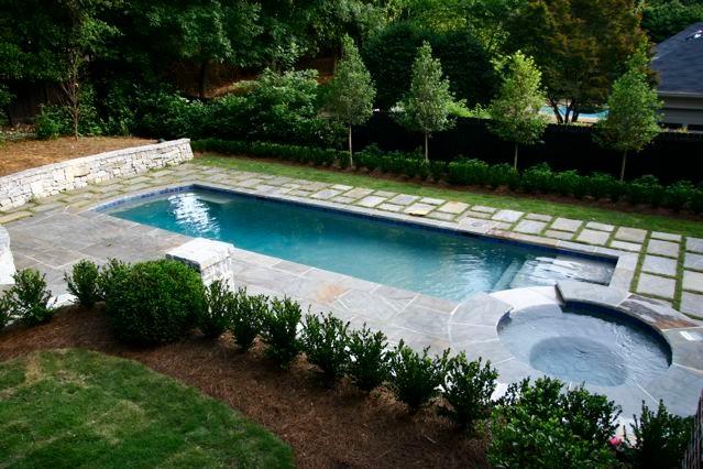 Swimming Pool Designs - Traditional - Pool - Atlanta - By Douglas C Lynn LLC Landscape Architecture