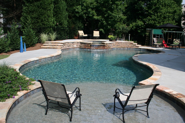 swimming pool designs traditional pool atlanta by
