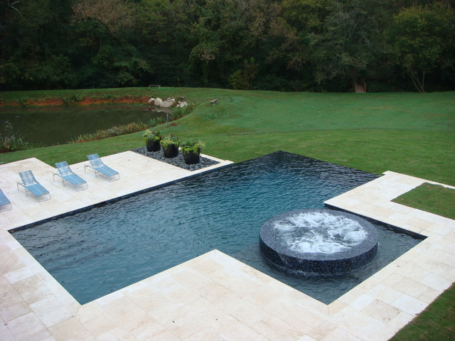 Swimming pool designs contemporary pool atlanta by for Pool design houzz