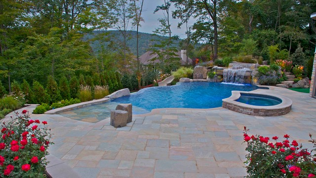 Swimming pool landscaping ideas bergen county northern nj for Pool design northern beaches