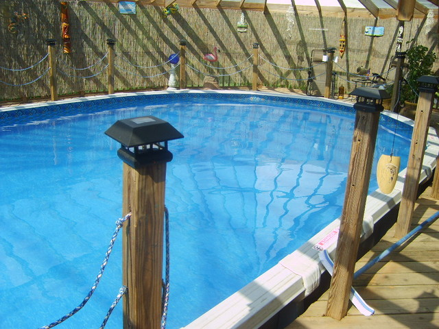 Swimming Pool Liner Installation Tropical Pool Oklahoma City By Sunshine Pool Services