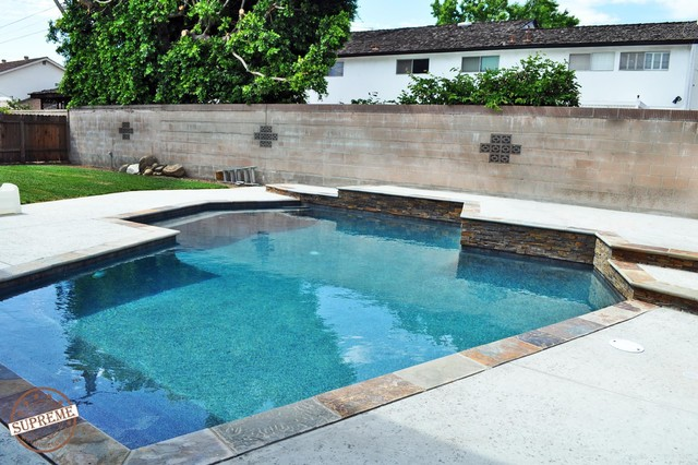 Swimming Pool Los Angeles Contemporary Pool Los Angeles By Supreme Remodeling Inc