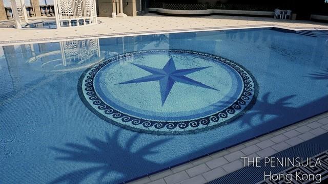 Swimming Pool Mosaic Designs : swimming pool mosaic pattern traditional-pool
