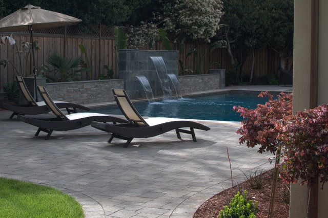swimming pool contemporary-pool