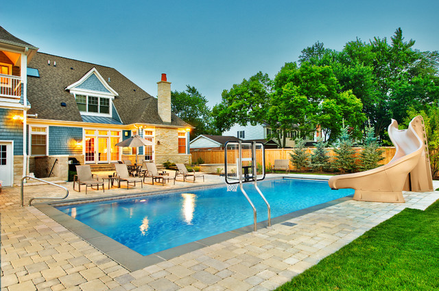 Platinum Poolcare Deerfield Illinois traditional pool